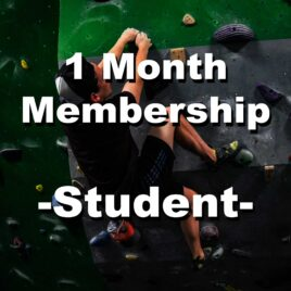1 Month Membership – Student